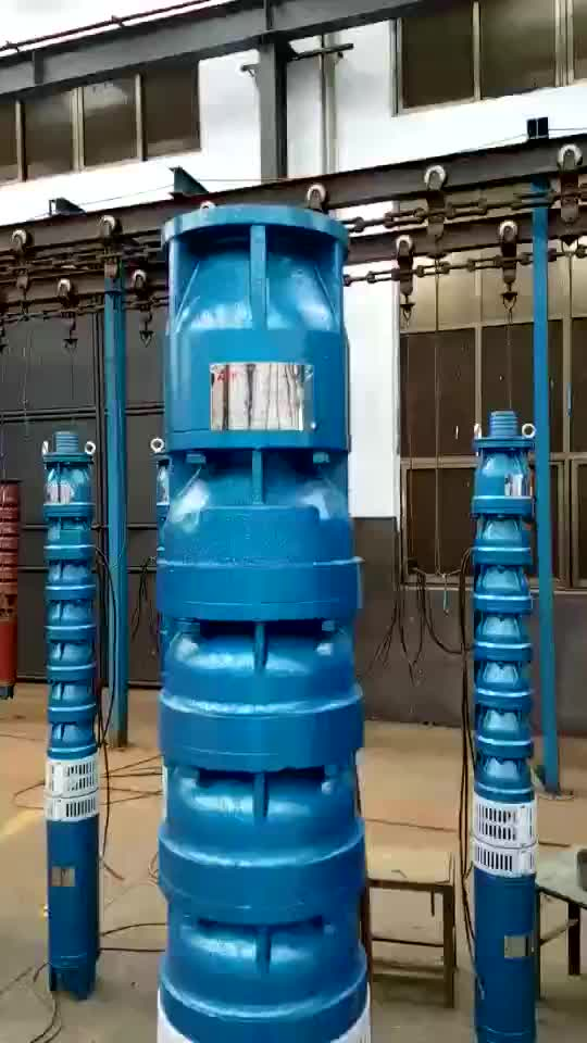 Chinese Best-Selling Large Flood Irrigation Long Distance Deep Well Water Submersible Pumps Supply Malaysia