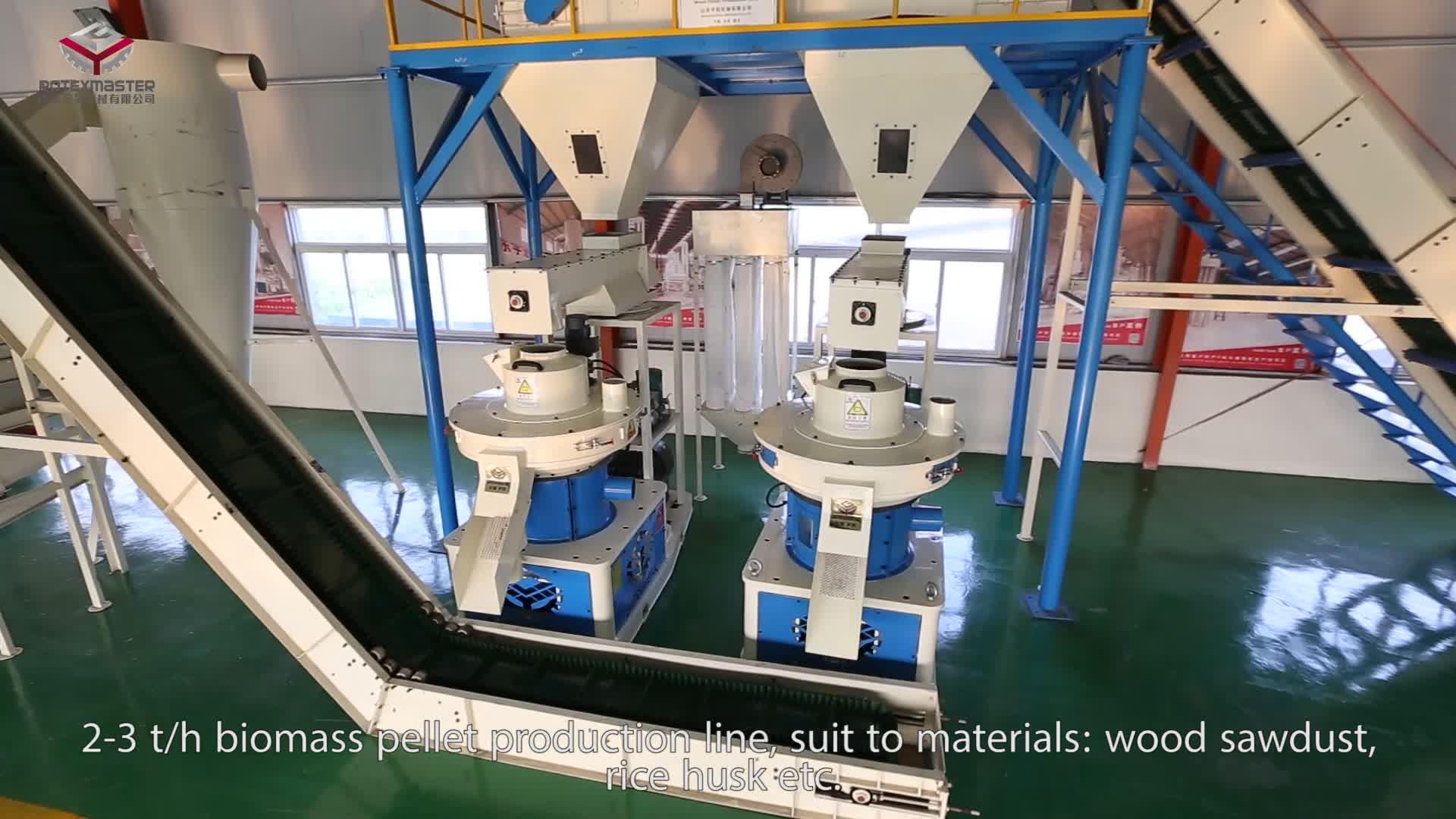 Эффективная машина гранул древесины/целые древесные гранулы производственной линии для продажи