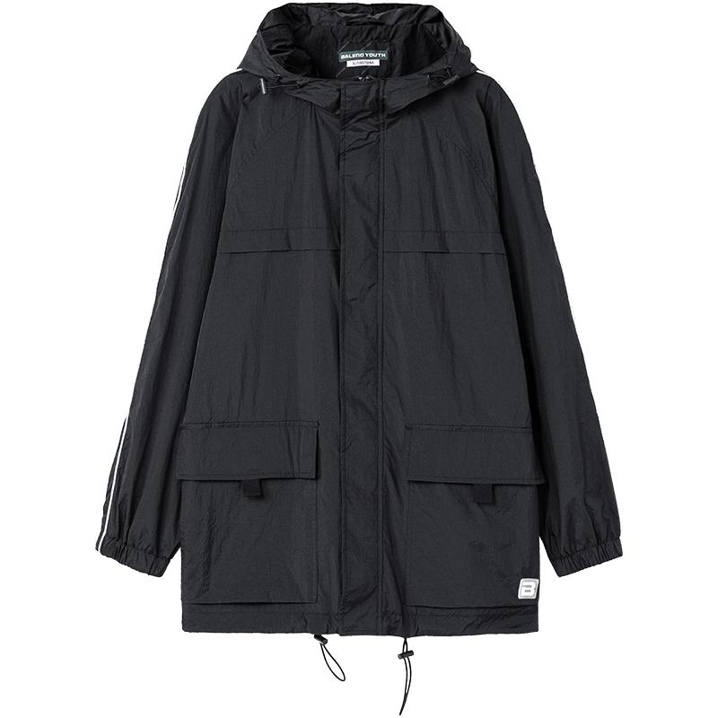 班尼路秋冬新款织边工装风薄外套质量好不好