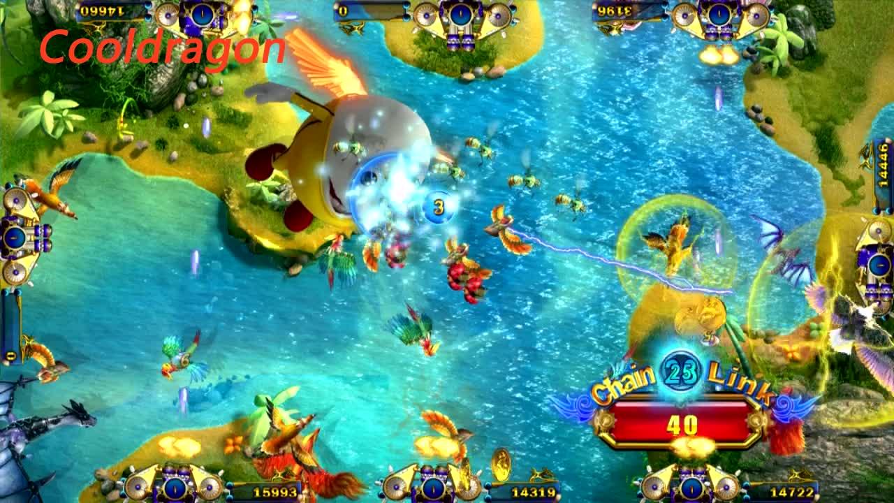 Fish Hunter Spiel Freies Angeln Casino Bälle Mann Arcade Glücksspiel Maschine