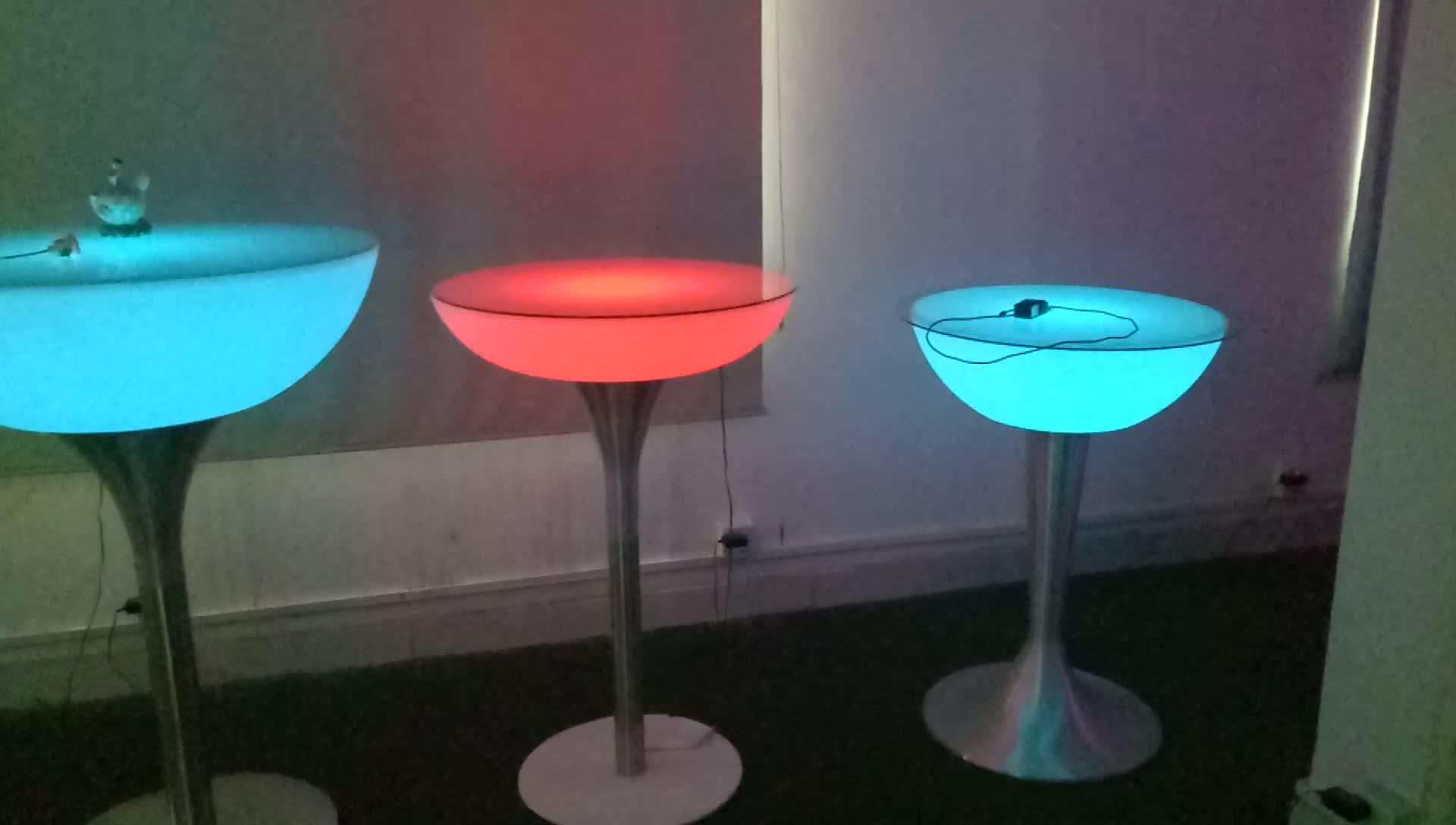 New Fashion Led Light Sofa 16 Colors Changing Illuminated