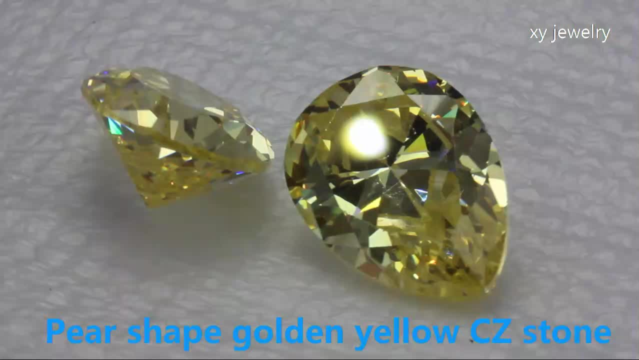 wholesale jewelry suppliers china yellow diamonds stone