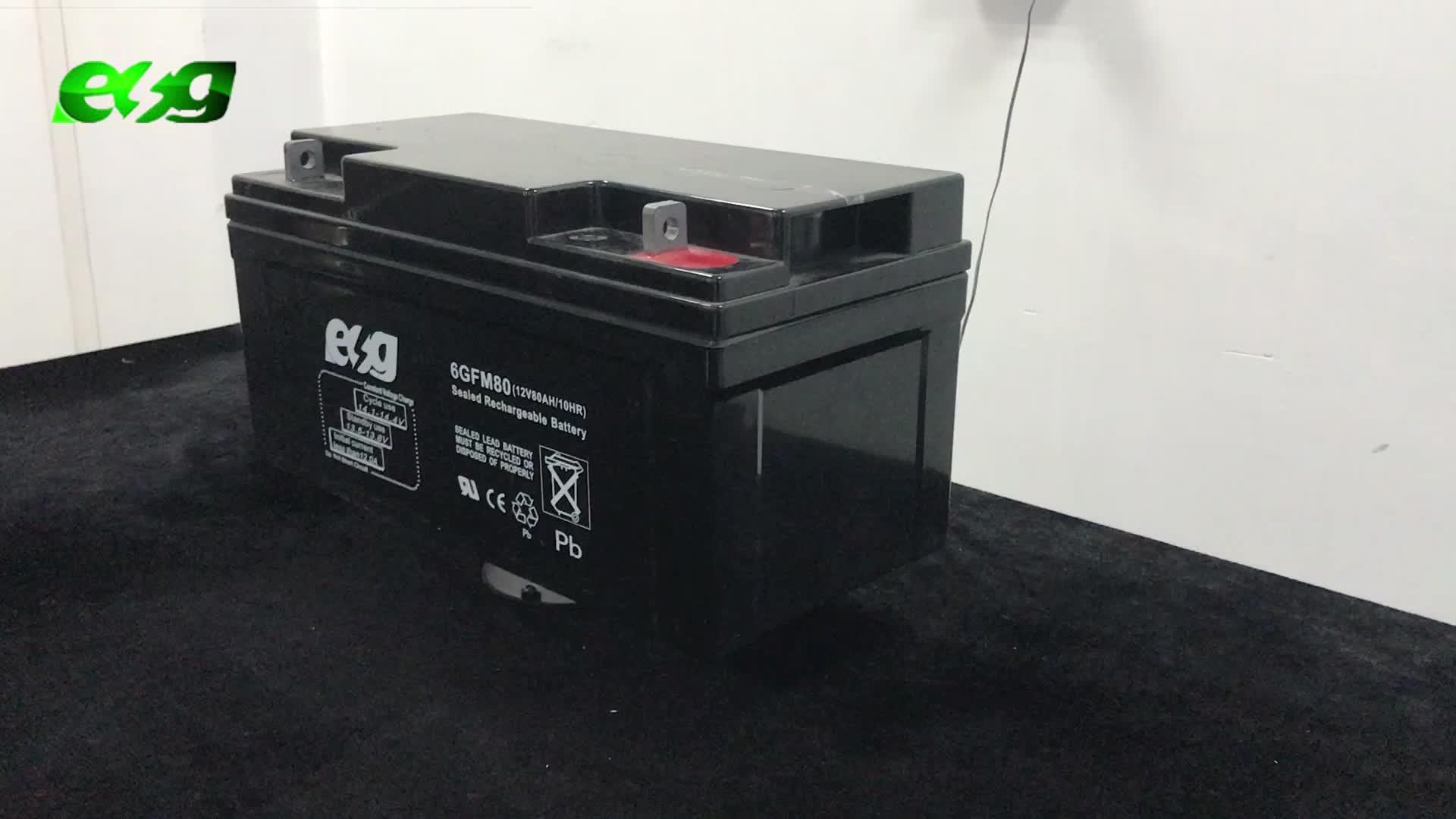 Toyo Tipo gel pieno di cristallo batteria Senza Manutenzione batteria UPS Utilizzo 12 V Golf Cart Batterie
