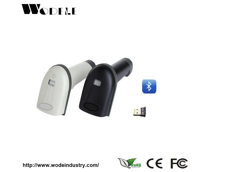 Simile CT10 dual mode 10 m Distanza Compatibile Wireless Bluetooth Barcode Reader per Ipad, Iphone, Android, Tablet Pc