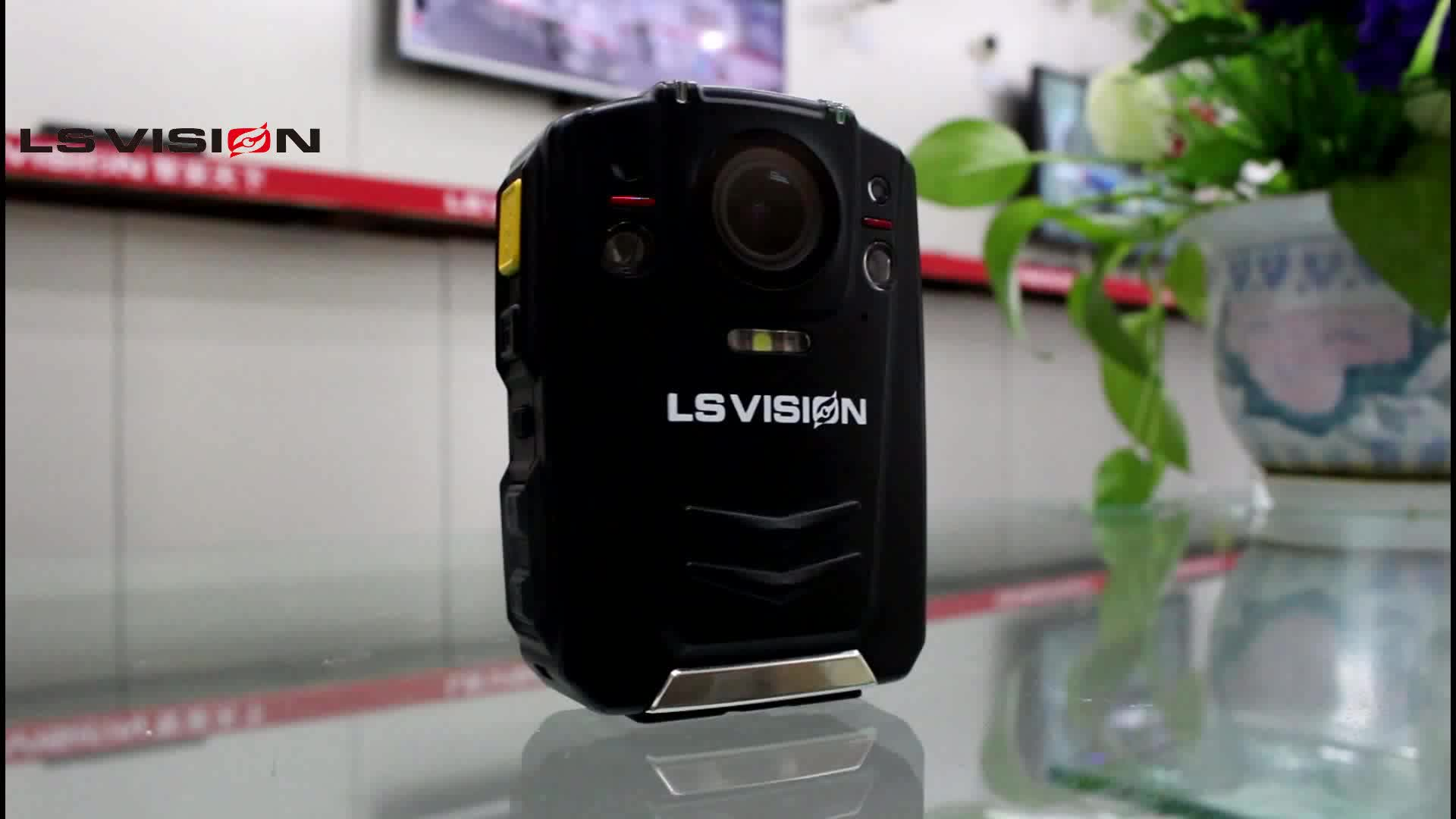 LSVISION 108g Low Weight IP66 GPS Police Video Body Worn Camera