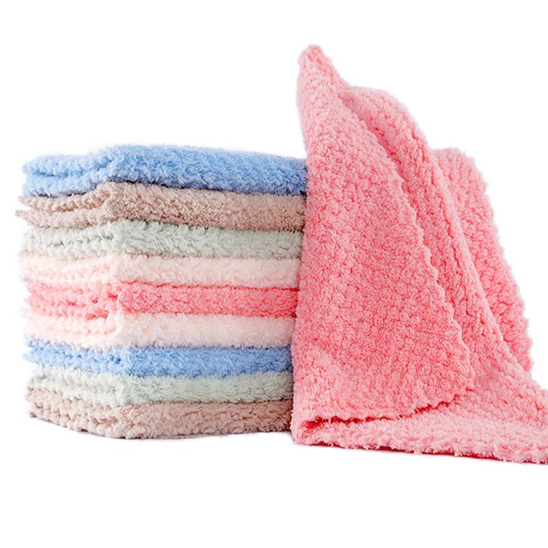 洗碗布家用抹布家务清洁毛巾厨房用品不易粘油擦桌子去油吸水神器