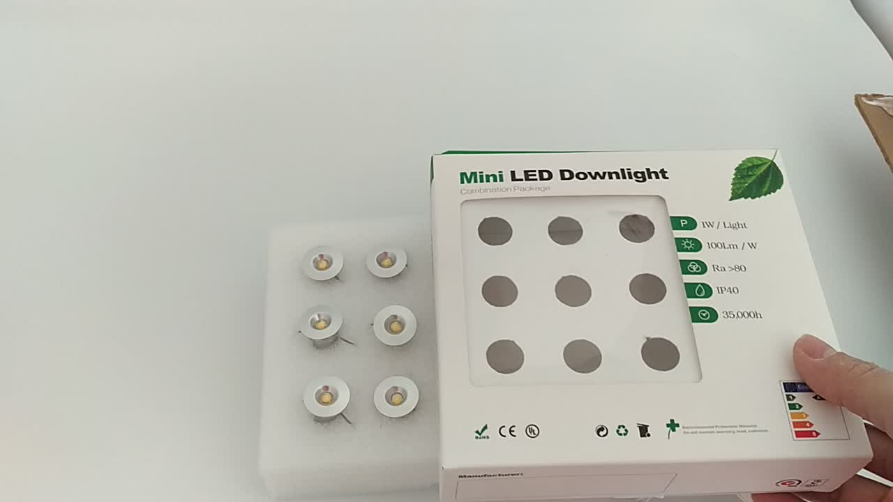 DC12V mini led 1W cabinet light