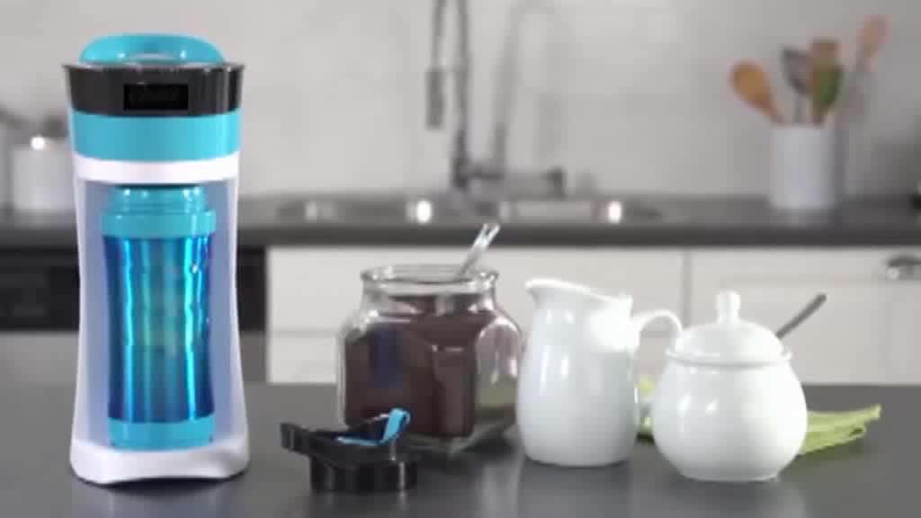Portabel Listrik Mesin Pembuat Kopi Otomatis Menetes Kopi Espresso