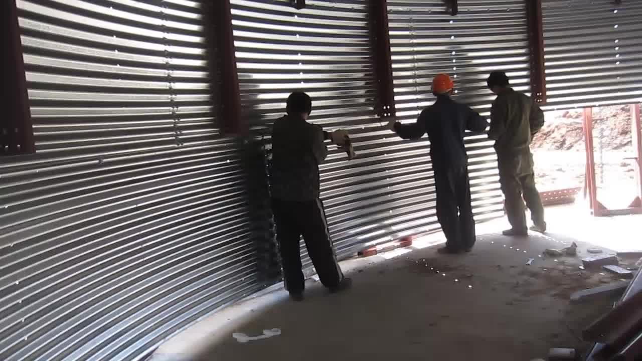 10000 ton grain steel silo for storage