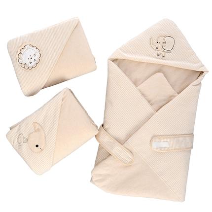 新生儿包被纯棉抱被夏季四季包被子