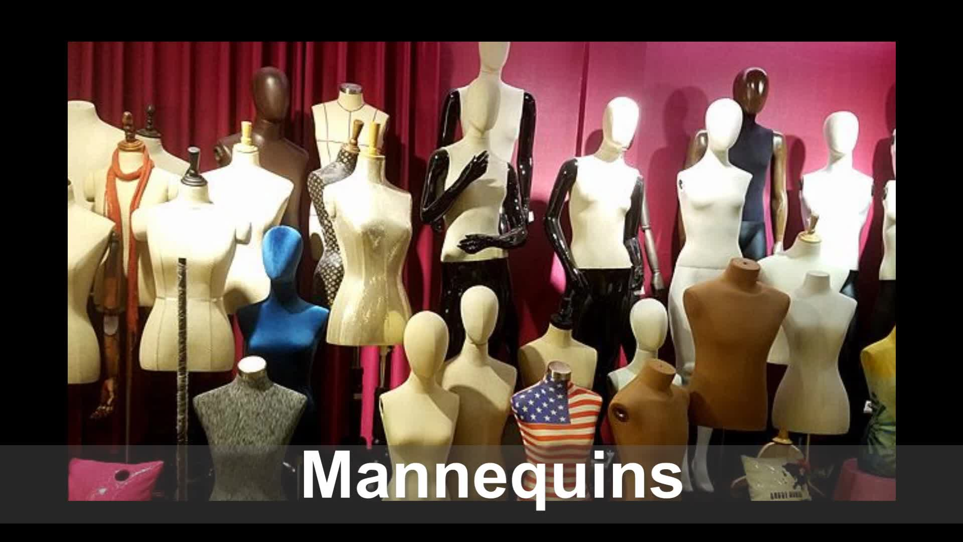 Full body glossy female mannequins for shop display