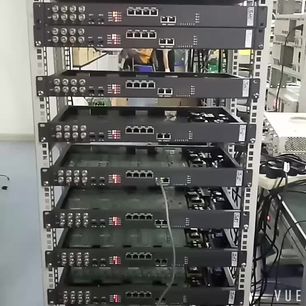 voice fiber mux 30 channel telephone FXO/FXS over fiber optic for PSTN