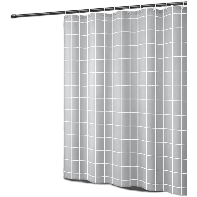 厕所挡水隔断帘杆套装免打孔浴帘怎么样