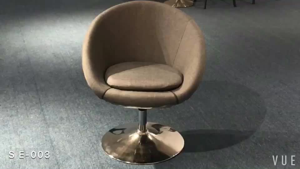 round big seat leather home use  swivel chair