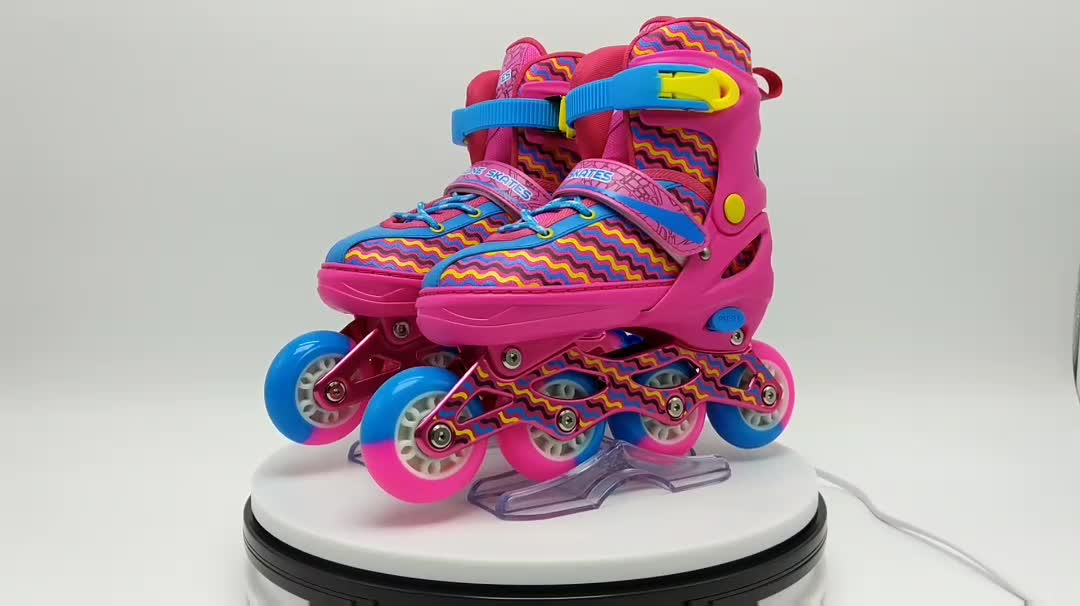 roller skate shoes for kids with wheels 4 wheels adjustable patines de soy luna profesionales