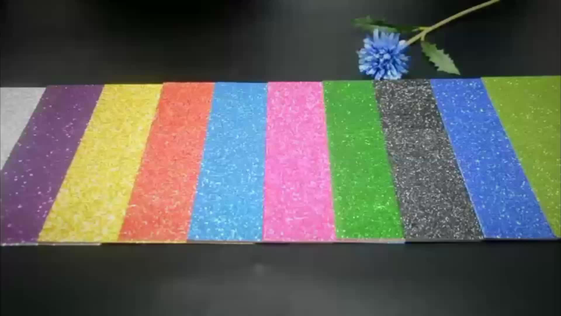 A4 12 * 12 '' Format Glitterpapier Einladung Glitterkartenpapier