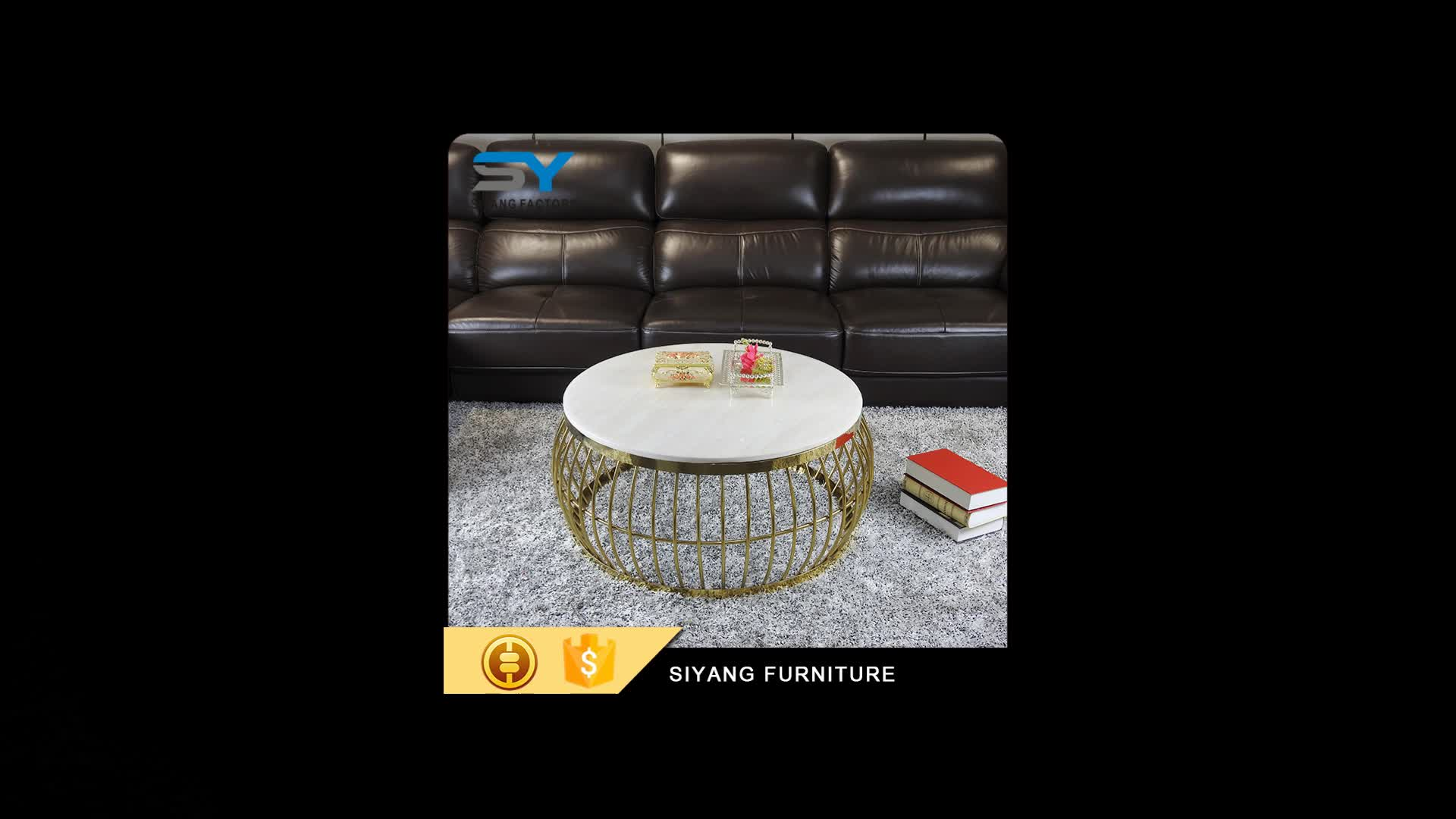 Hot sale white marble tops round coffee table for sale for Marble table tops for sale