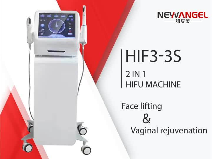 2 in 1 HIFU Korea facial lifting beste anti aging/vaginale aanscherping machine hifu