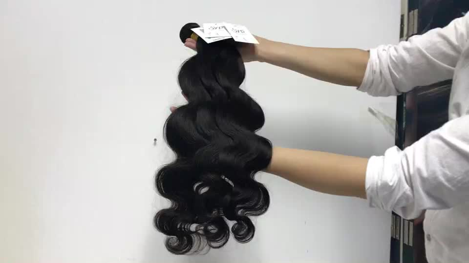 Top Grade Quality Body Wave Hair Bundles, Wavy Unprocessed Thick Virgin Crochet Braid Premium Hair Bundles