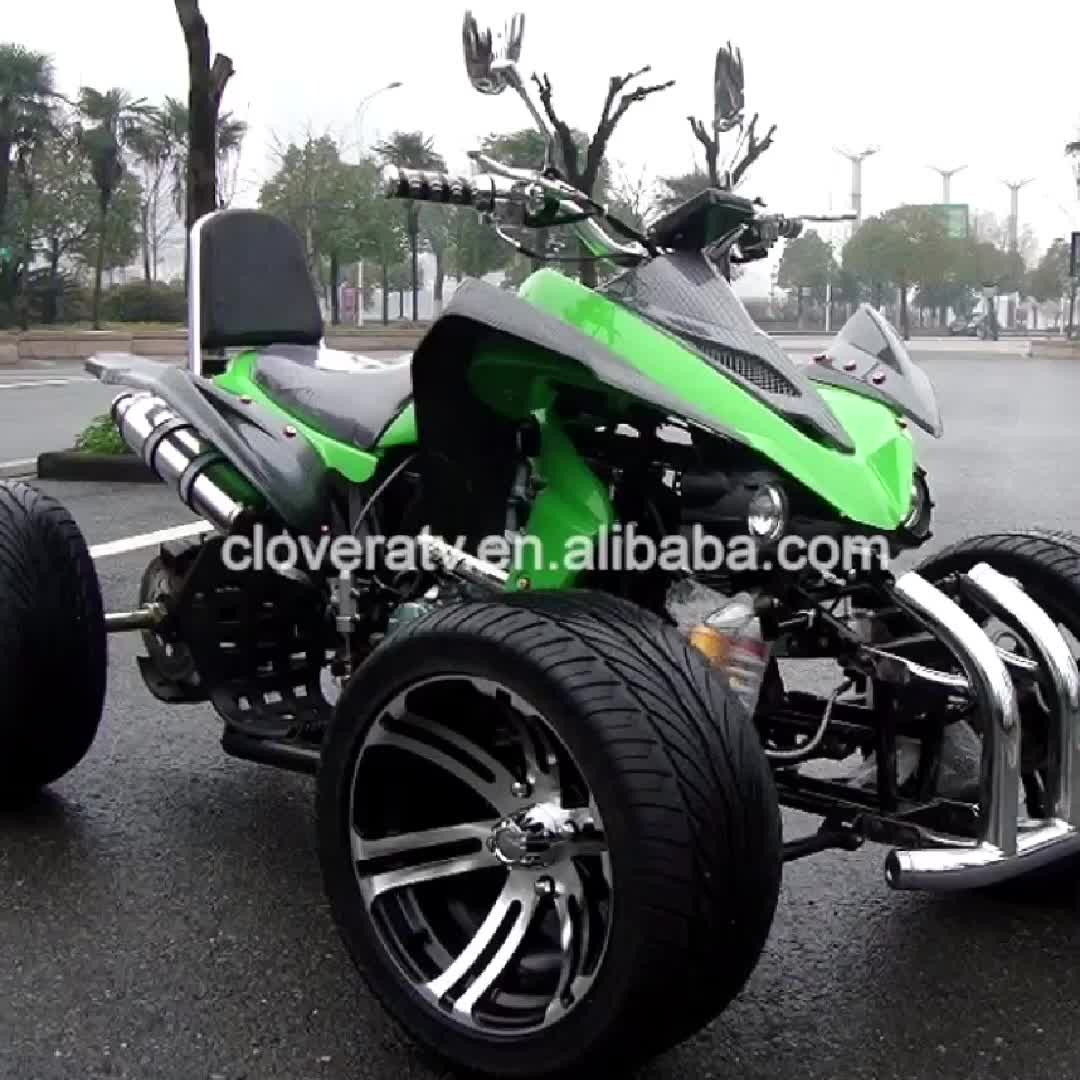 Street Bike Quad: Kawasaki 250cc Racing Atv Quad Bike Atv For Adults Street