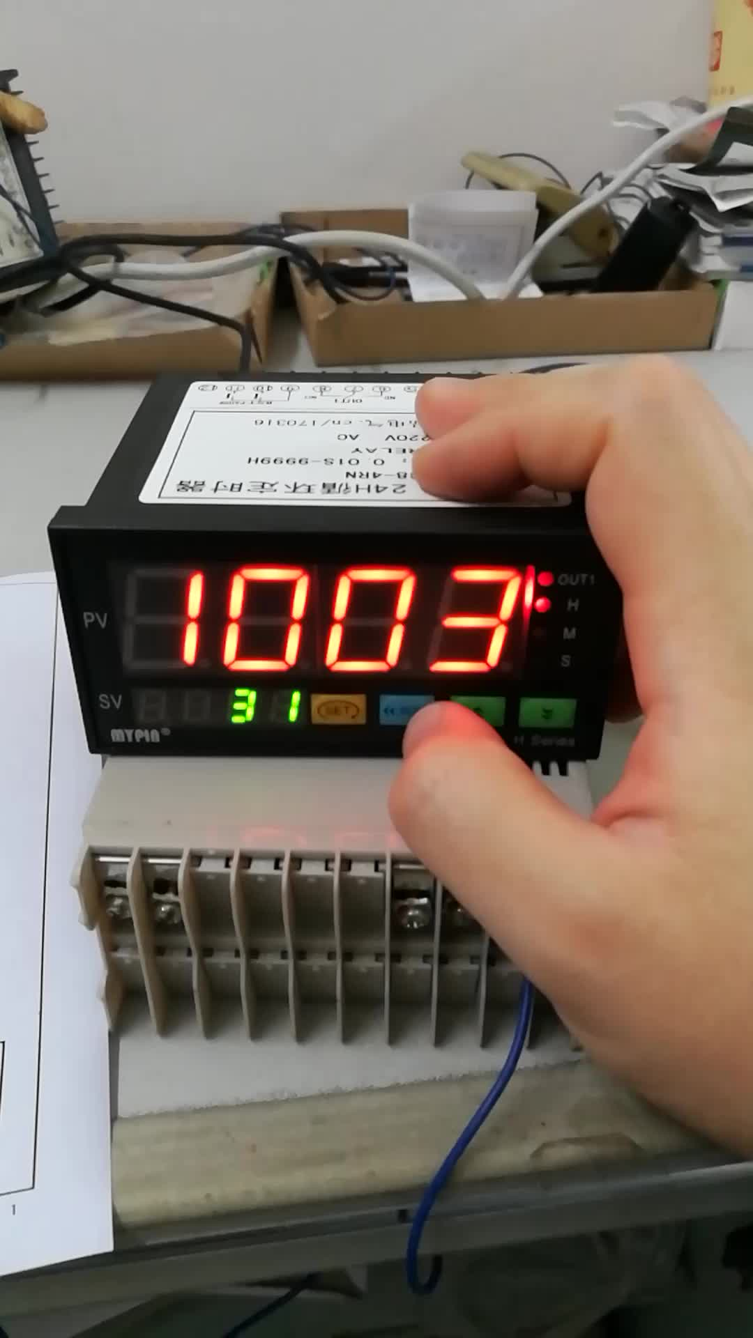 2015---HH series telemecanique timer relay