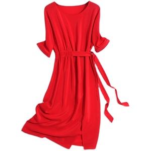 杭州女2020夏新款高端气质连衣裙