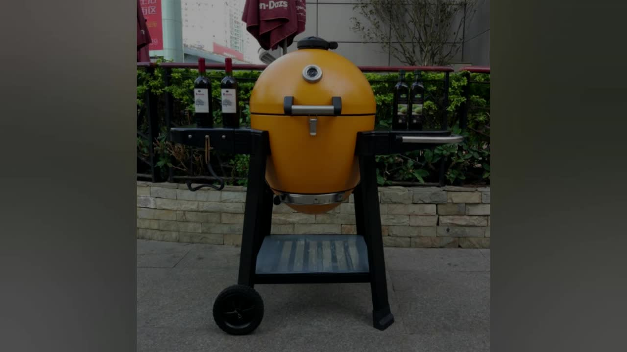 Lifestyle Charcoal BBQ Smoker Grill Barbecue Equipment Char-griller Akorn  Commercial Smokers Steel Kamado Grill
