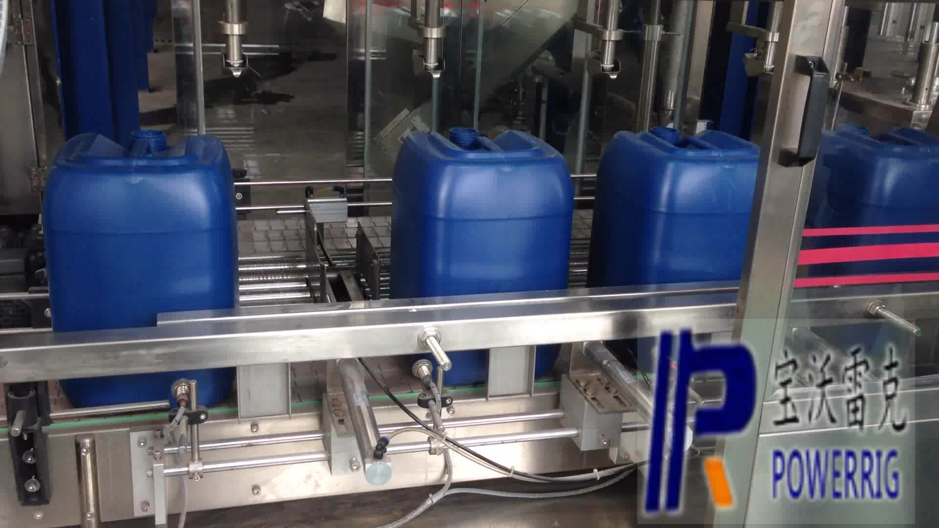 Pail filling machine for car and gear oil