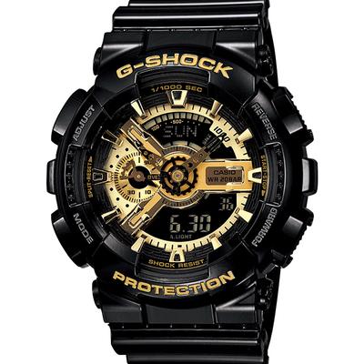 卡西欧手表男黑金gshock表悟空版限量版黑暗之心ga110海洋之心