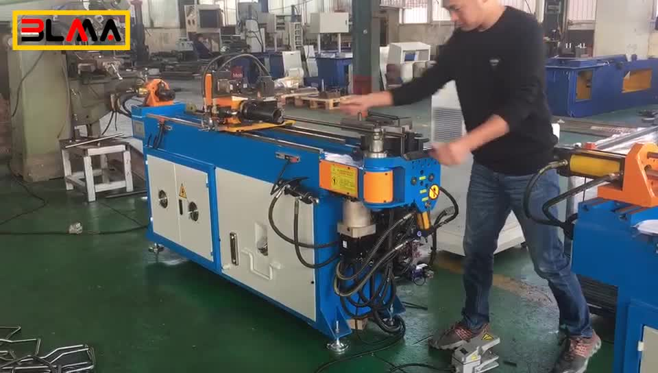 Factory Price 1 2 3 4 5 Inch 3D Automatic Exhaust Round Square Hydraulic Bending Machine CNC Mandrel Tube Bender