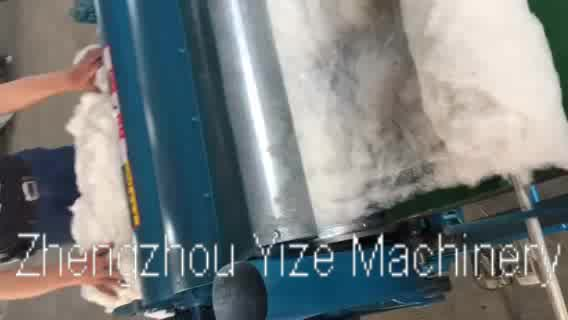 Textile Waste Cotton Fabric Fiber Opening and Tearing Recycling Machine