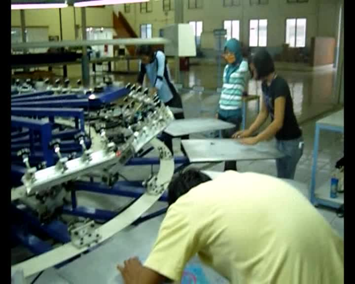 Screen Printing Long Tunnel Conveyor Dryer