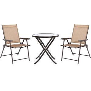 全友休閑桌椅組合現代簡約茶幾椅子