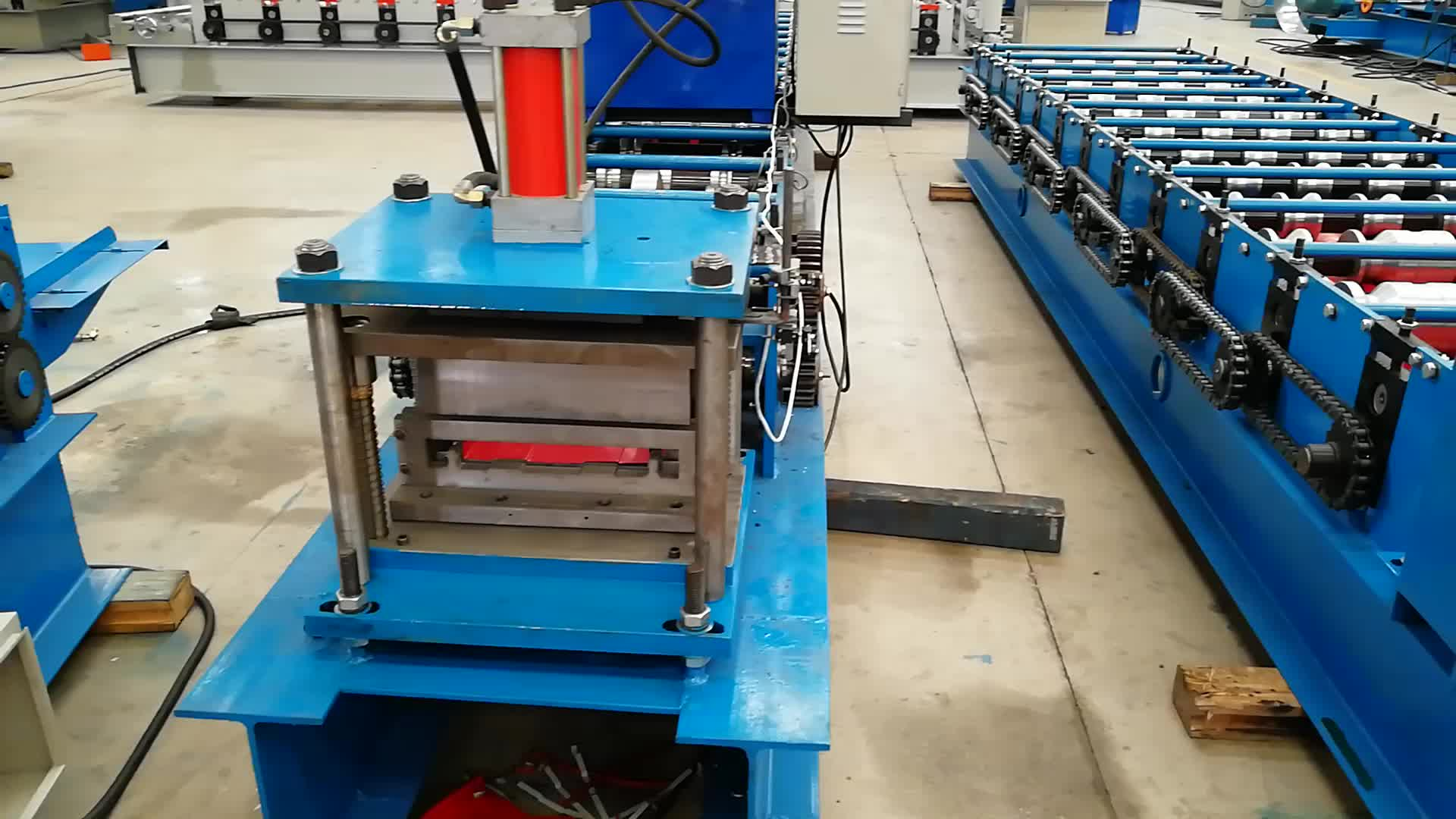 Metal R101 Lamina Roof Panel Roll Forming Machine Buy