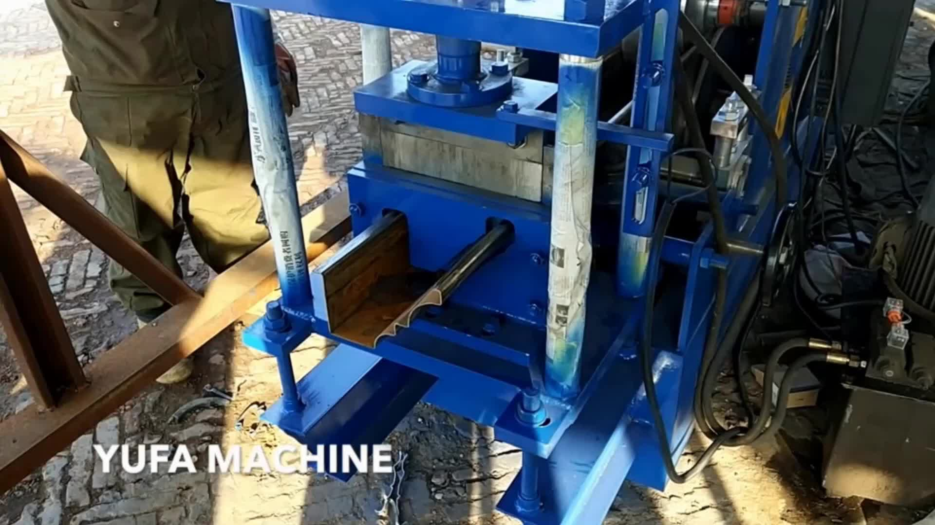 Lebanon Hot Used Seamless Water Gutter Making Machine For