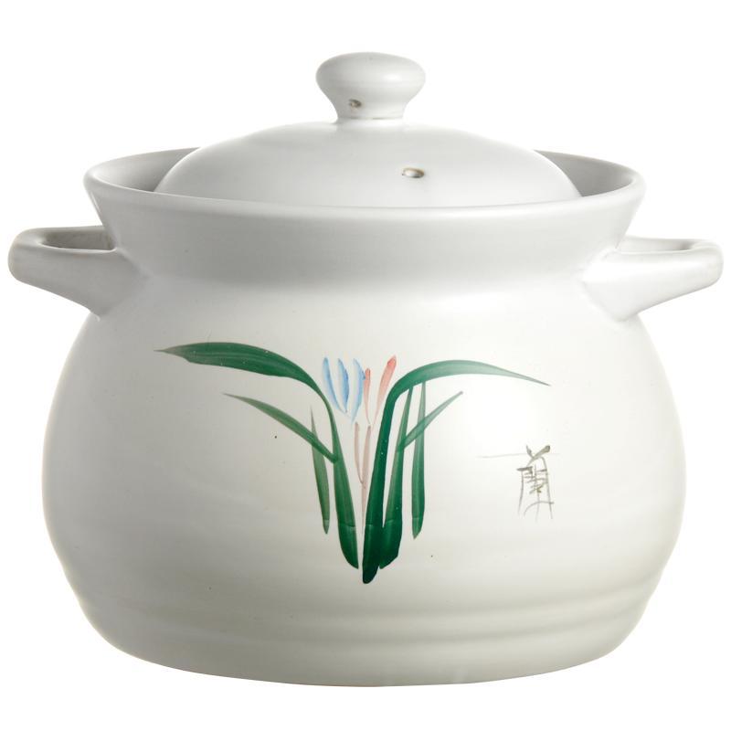 康舒陶瓷砂锅家用煮粥煲汤明火汤锅网友评测分享