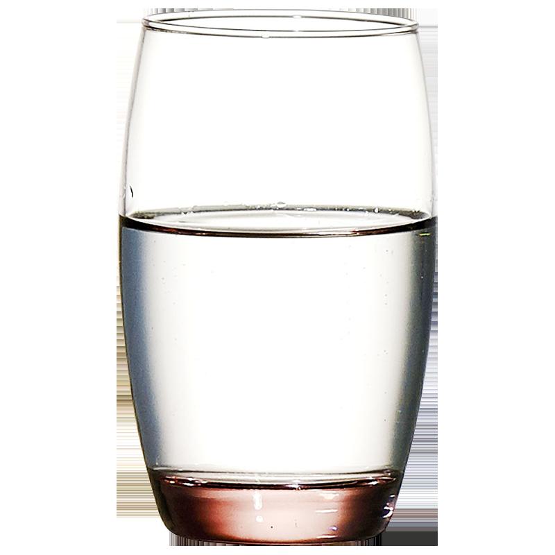 6只原装乐美雅创意耐热玻璃茶杯水杯果汁杯冰粉冰蓝彩色玻璃杯子