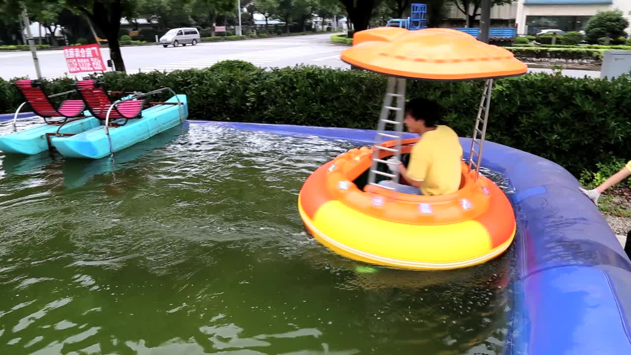 Adult and kid electric laser bumper boat for sale