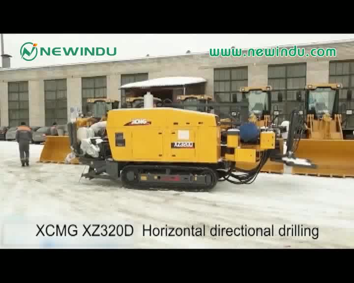China TOP XZ320D Horizontal Directional Drilling machine in algeria