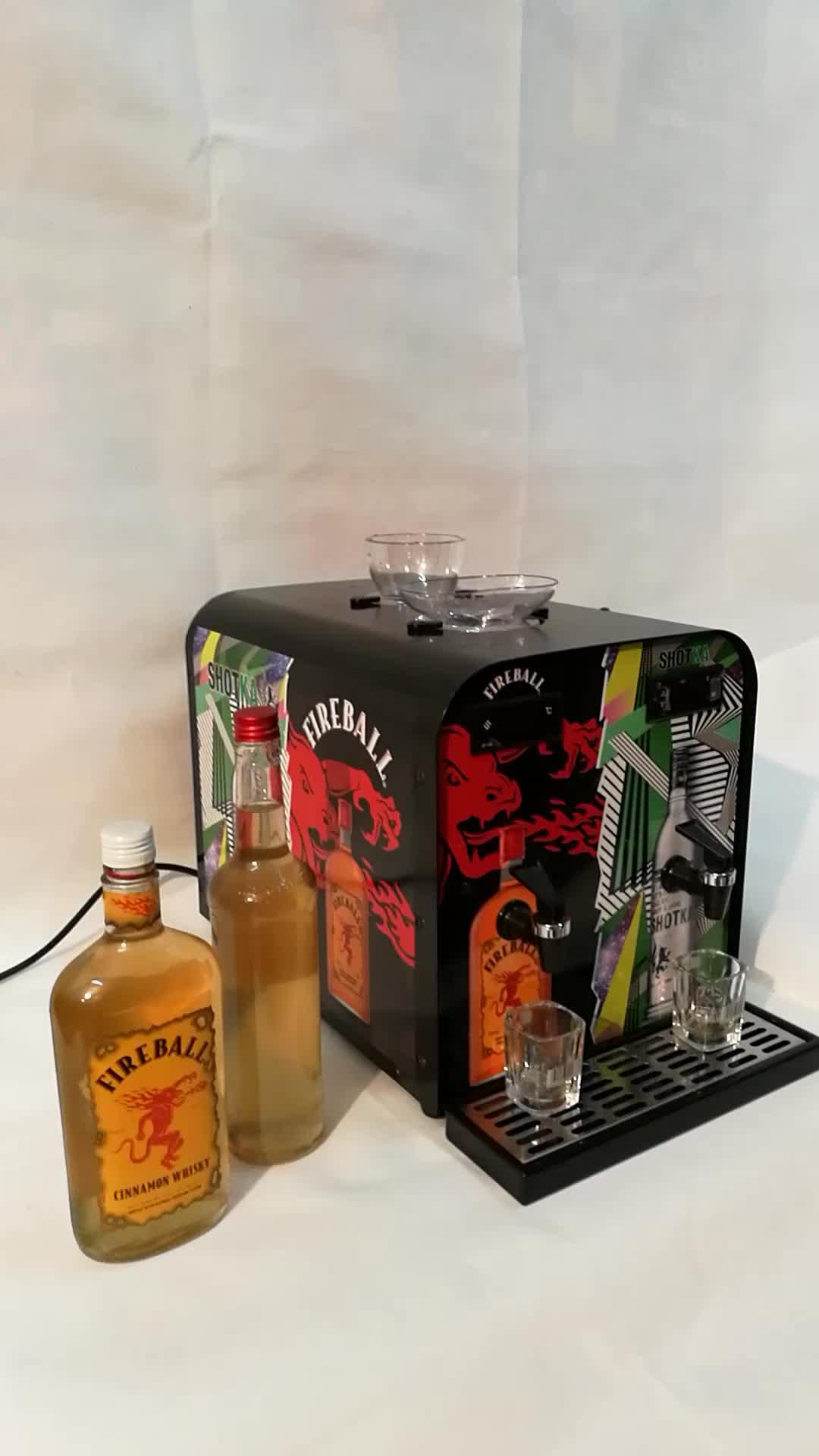 whiskey machine