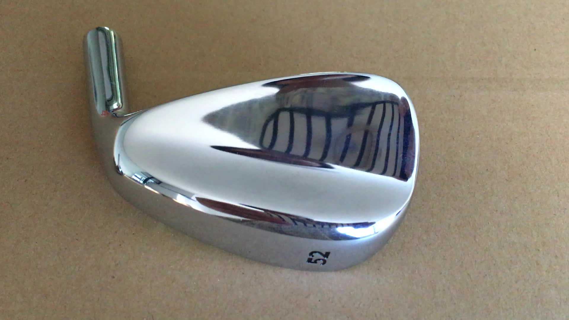 Mirror Plating Golf Wedges, Golf Club Heads