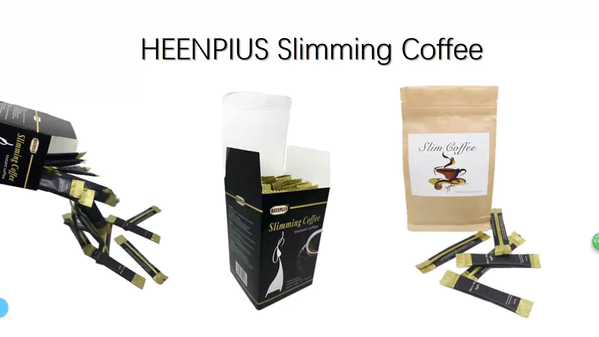 Private Label OEM Available Weight Loss Coffee