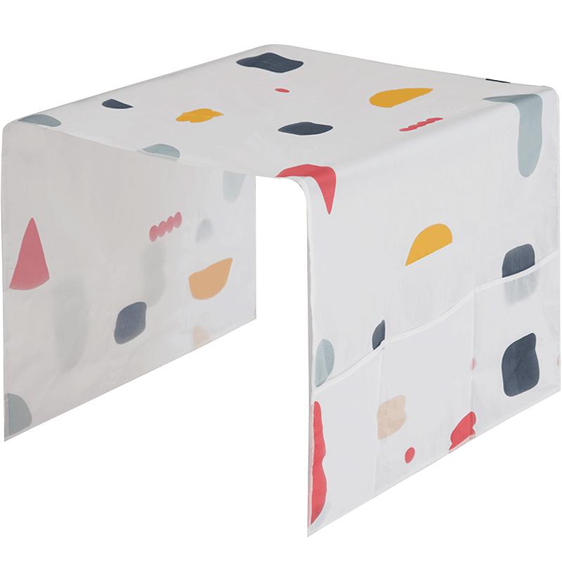 防水冰箱盖布防尘罩冰箱罩盖巾家用冰柜顶挂袋冰箱套收纳袋小清新