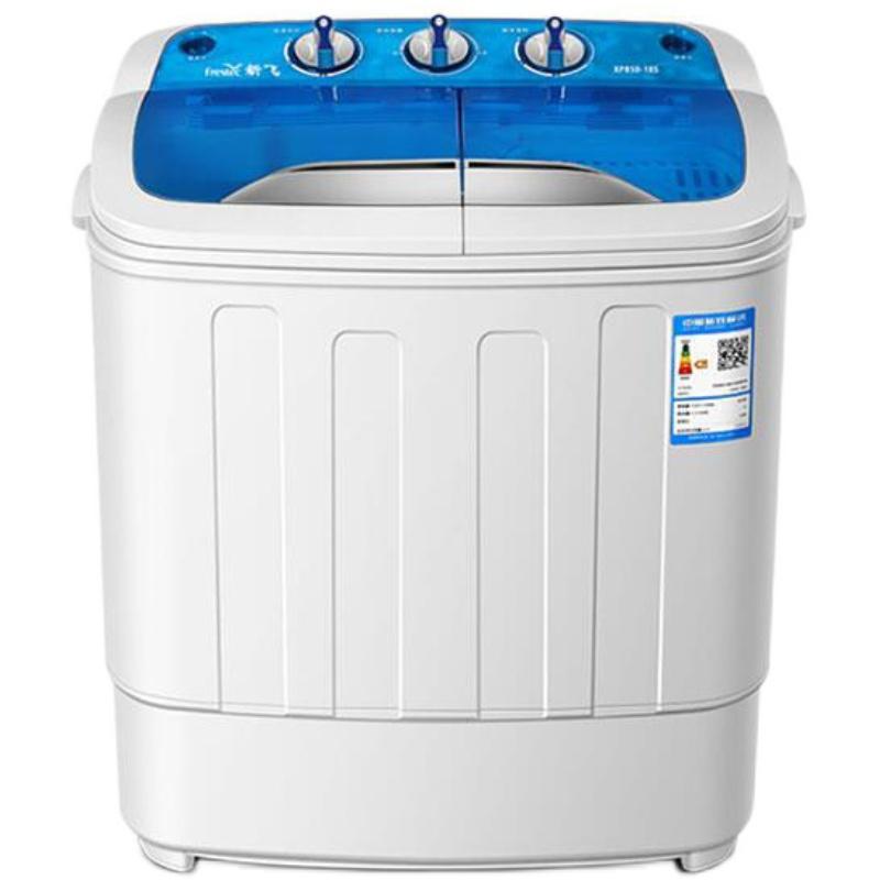 新飞半全自动家用小型双桶洗衣机评价好不好
