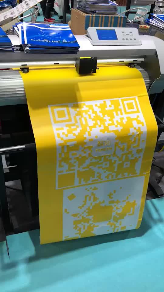 Custom heat transfer printing sticker car sticker