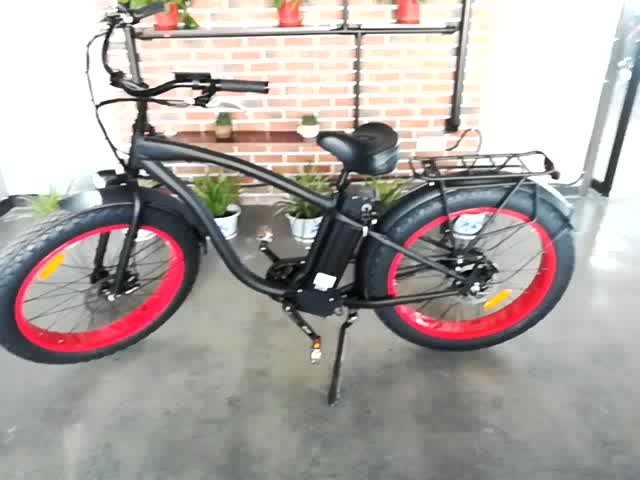 Cheap price and green power oem fat tire electric bike for Mid motor electric bike