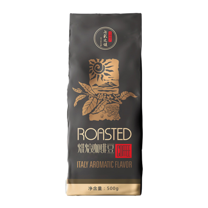 3斤!咖啡豆意式特浓精品可现磨云南黑咖啡粉浓缩拼配无糖1kg+0.5