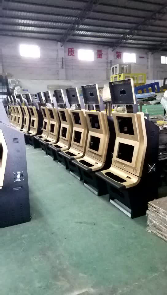 Customized Jammer Slot Machine Cabinet Maquina Tragaperras