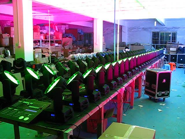 높은 품질 36 개 15 와트 5in1 RGBWA 줌 헤드 세척 무대 조명