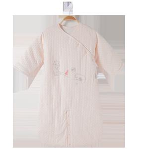 童泰秋冬薄棉婴儿床品用品纯棉睡衣
